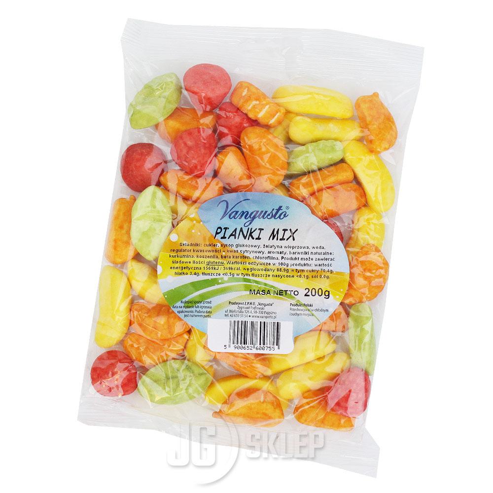 Cukierki pianki mix 200g