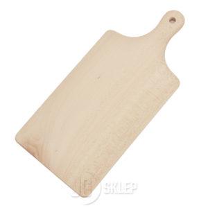 Deska do krojenia drewniana 18x38 cm