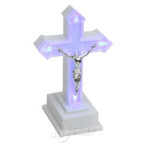 Krzyż ledowy świecący