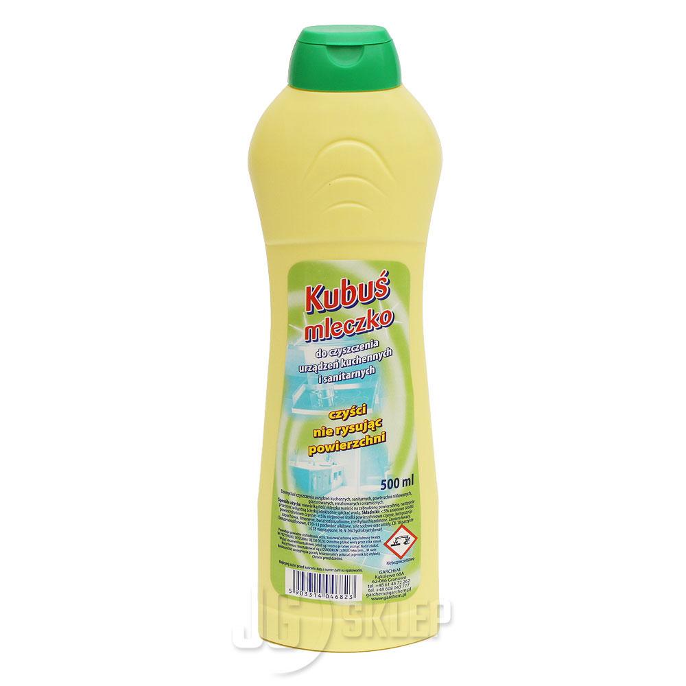 Kubuś mleczko do czyszczenia urządzeń kuchennych i sanitarnych