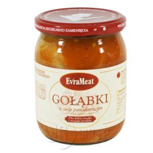 Gołąbki w sosie pomidorowym EvraMeat 500g