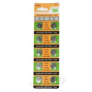 Baterie Alkaliczne TMI 1,55V - AG10, 389A, CX189, LR1130W