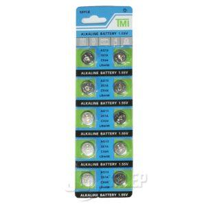Baterie Alkaliczne TMI 1,55V - AG13, 357A, CX44, LR44W
