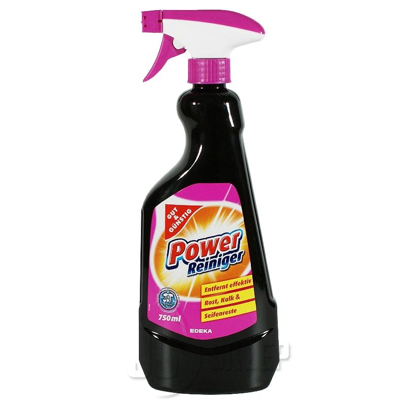 Płyn do mycia kuchni i łazienki Gut & Günstig Power Reiniger 750ml