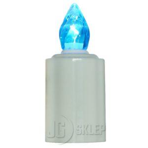 Znicz elektryczny nagrobkowy Świeczka LED