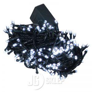 Lampki choinkowe LED 200 lampek 8 trybów świecenia Białe
