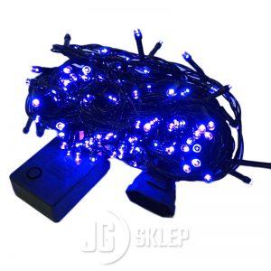 Lampki choinkowe LED 200 lampek Niebieskie