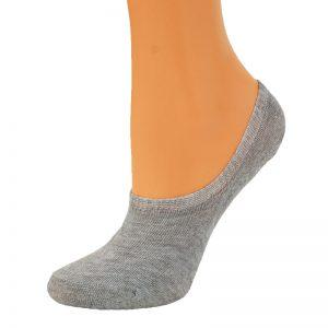 Skarpetki damskie stopki bawełniane 3 pary mix