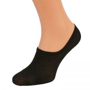 Skarpetki męskie stopki bawełniane Ioosoo 3 pary czarne