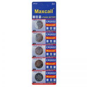 Baterie Lithium Maxcali 3V CR 2032 5szt.