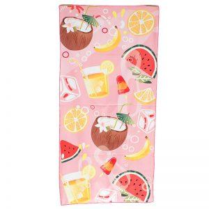 Ręcznik plażowy z mikrofibry 70x140cm kokos