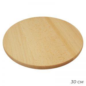 Deska obrotowa do pizzy i serów drewniana patera 30cm