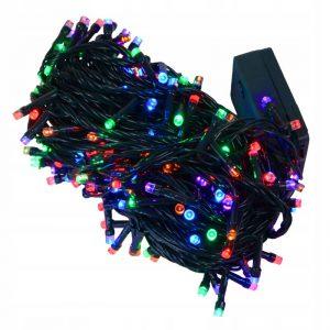 Lampki choinkowe 200 LED wew/zewnętrzne multikolor