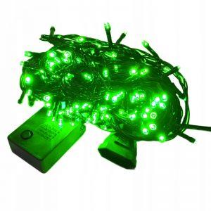 Lampki choinkowe 200 LED wew/zewnętrzne zielone