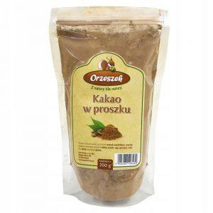 Kakao w proszku naturalne niealkalizowane 200g