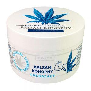 Balsam konopny chłodzący z naturalnym olejem na skurcze i stłuczenia Editt Cosmetics 220g